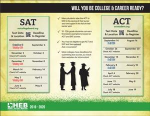 SAT & ACT Printable Flyer