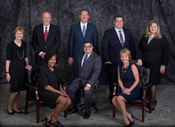 HEB ISD School Board group photo