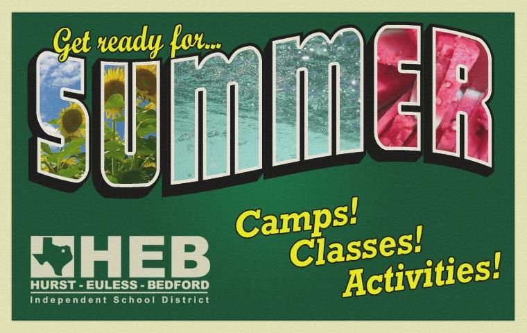 Get ready for summer -- Camps! Classes! Activities!