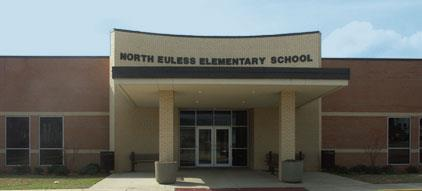 entrance of North Euless Elementary