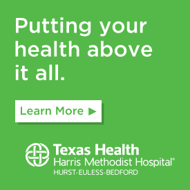 Putting your health above it all. Learn More. Texas Health Harris Methodist Hospital Hurst-Euless-Bedford