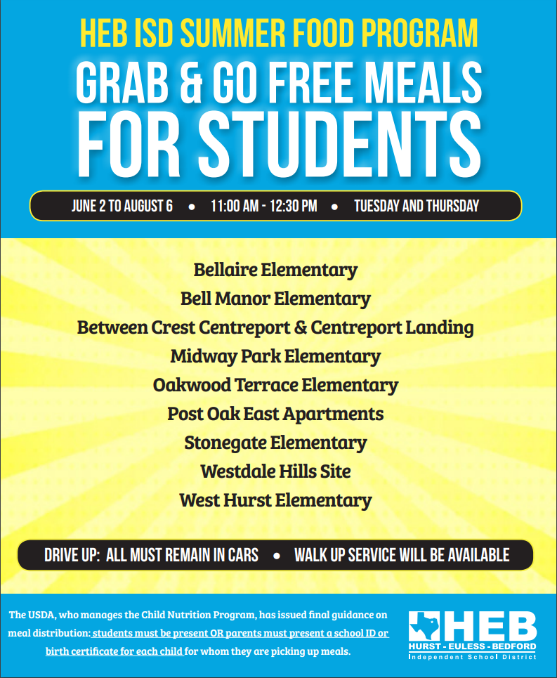 Summer Dining Flyer