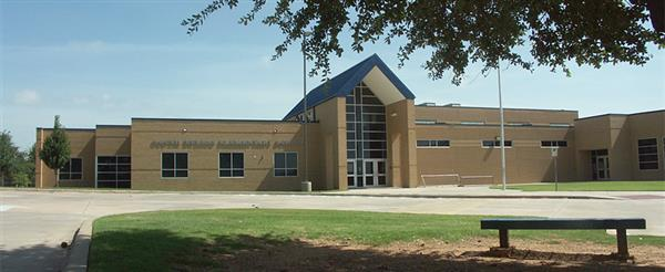front of South Euless Elementary