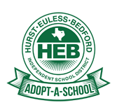 Logo for HEB ISD Adopt-A-School program