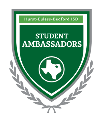 Logo for HEB ISD Student Ambassadors program