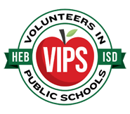 Logo for HEB ISD VIPS program